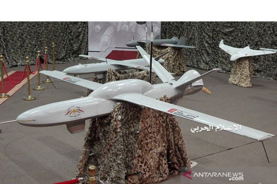 "Koalisi pimpinan Saudi cegat serangan ""drone"" di bandara Abha"