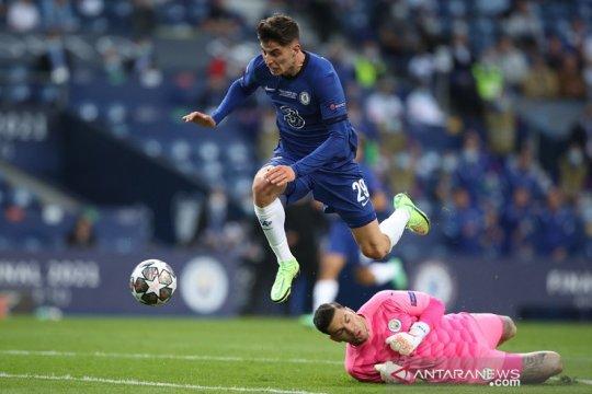 Babak pertama final Liga Champions, Havertz bawa Chelsea unggul 1-0
