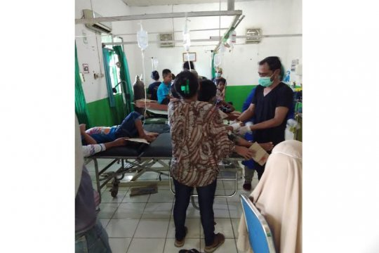 26 warga di Barito Timur diduga keracunan makanan resepsi pernikahan
