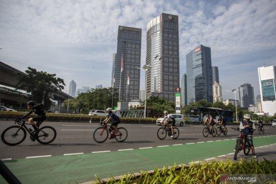 """Soal jalur khusus """"road bike"""", Anies sebut penggunaannya dibatasi"""
