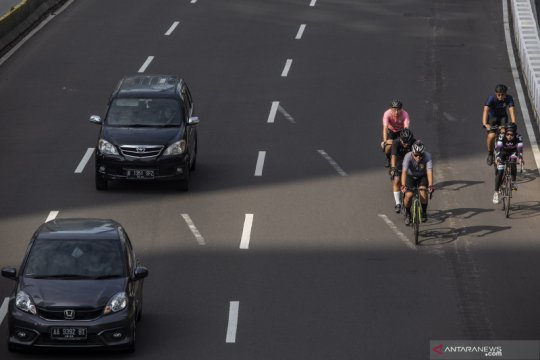 "Ini penegasan DKI terkait uji coba ""road bike"" Jalan Sudirman-Thamrin"