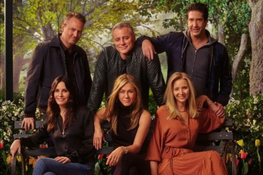 """Friends: The Reunion"" hampir kalahkan popularitas ""Wonder Woman 1984"""