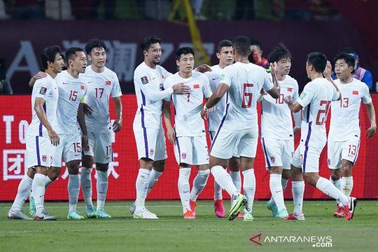 Kualifikasi Piala Dunia: China menang telak 7-0 lawan Guam