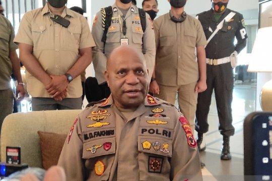 Polda Papua kirim anggota Brimob ke Oksamol, perbatasan RI dan PNG