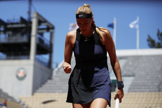 Kvitova menapaki babak kedua French Open