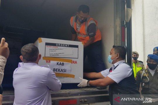 Kabupaten Bekasi terima 32.300 dosis vaksin COVID-19