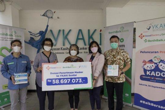 Good Doctor donasikan 43.000 masker untuk YKAKI