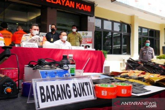 Polisi kejar lima DPO sindikat tembakau sintetis