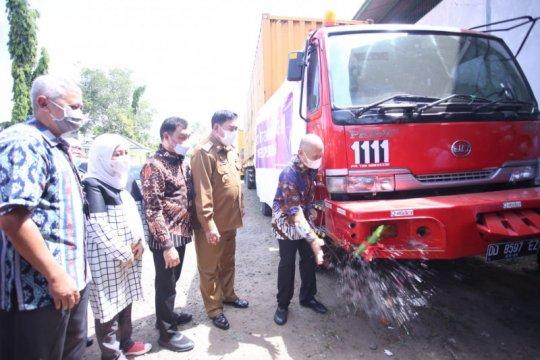 Teten Masduki lepas ekspor briket Makassar ke Jordania