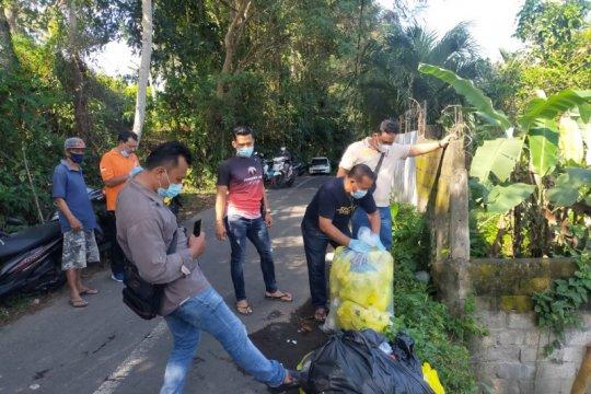 Polisi selidiki pelaku pembuang 35 kg limbah medis di Gianyar-Bali