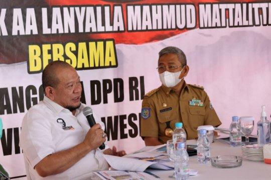 LaNyalla paparkan strategi DPD RI dukung pemulihan pascagempa Sulbar