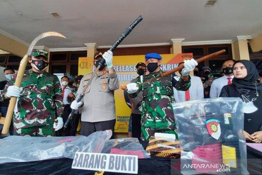 Preman penantang perwira TNI di Garut diancam 10 tahun penjara