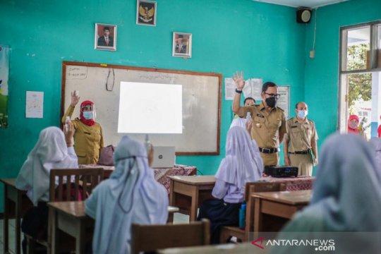Sosialisasi pencegahan COVID-19 awali pembelajaran tatap muka di Bogor
