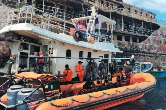 Korban hilang kapal terbakar di Kepulauan Sula belum ditemukan
