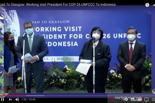 Alok Sharma: Indonesia bisa pimpin G20 atasi perubahan iklim