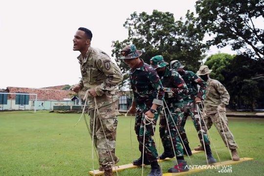 Prajurit AS terkesan dengan keramahan TNI saat latihan bersama
