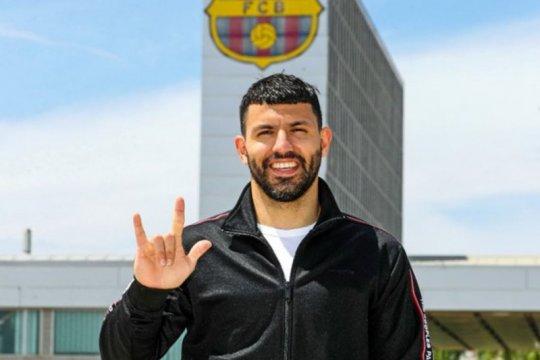 Barcelona konfirmasi transfer Sergio Aguero dari Manchester City