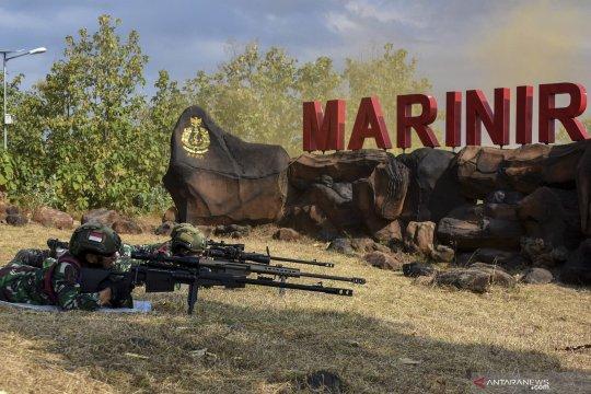 Latihan Satuan Dasar Yontaifib 2 Marinir
