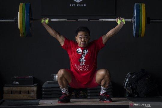 Lifter Eko Yuli targetkan medali emas di Olimpiade Tokyo 2020