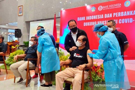 BI: Vaksinasi COVID-19 karyawan perbankan di Bali hampir 100 persen