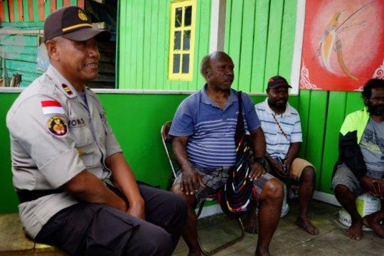 Berkat pengamanan TNI-Polri, kondisi Kabupaten Puncak, Papua kondusif