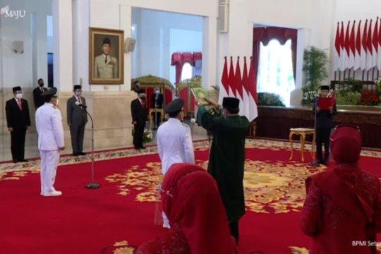 Presiden Jokowi lantik Gubernur dan Wagub Kalimantan Tengah