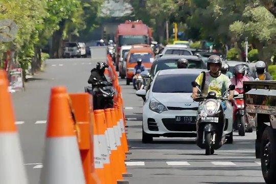 Urai kemacetan, Dishub Temanggung lakukan rekayasa lalu lintas