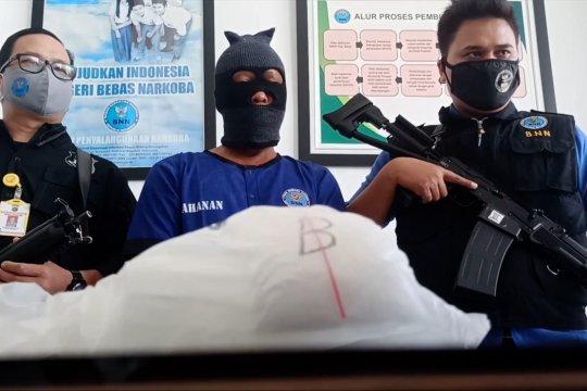 BNNP Babel amankan 1,1 kg narkoba dari kurir antarprovinsi