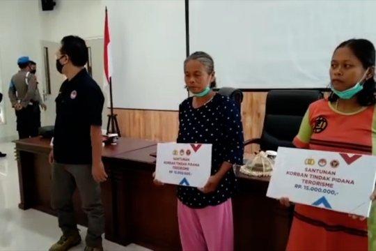 BNPT dan LPSK santuni keluarga korban terorisme di Poso