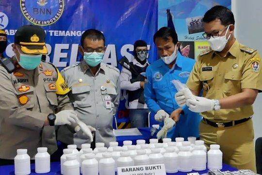 BNNK Temanggung ringkus bandar 42 ribu pil koplo