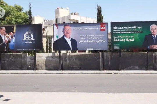 Masa kampanye pemilihan presiden Suriah mulai digelar
