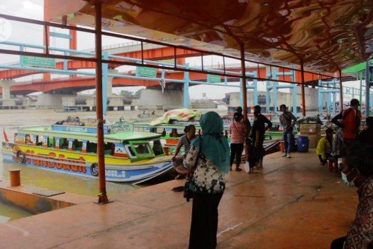 Pandemi, speedboat Sungai Musi layani penumpang