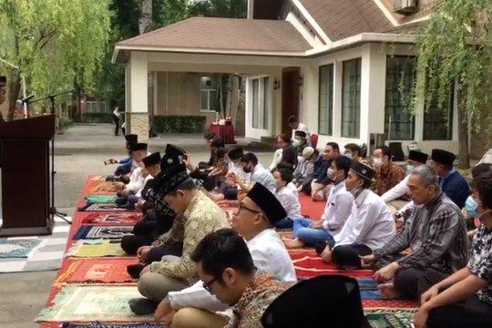 Laporan dari China - KBRI Beijing leluasa gelar shalat Idul Fitri