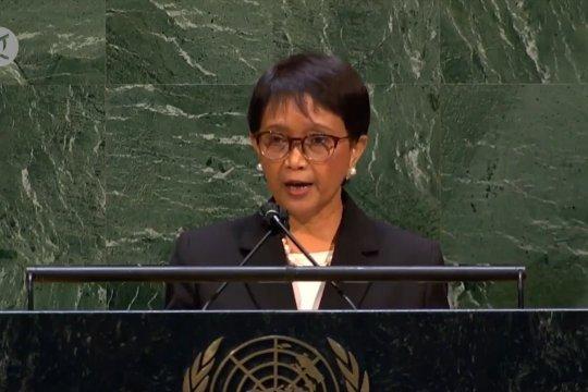 RI desak Majelis Umum PBB mendorong peran internasional di Palestina