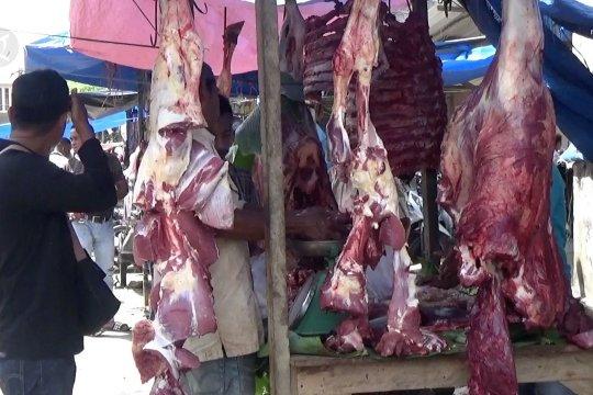 Daging di Aceh melonjak Rp50 ribu dibanding hari normal
