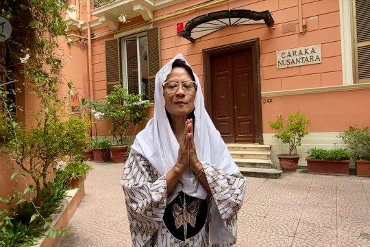 Ucapkan Idul Fitri, Dubes RI untuk Italia ajak bersihkan hati