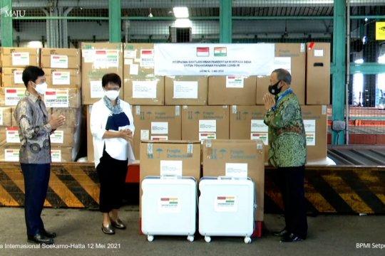 Indonesia kirim bantuan hibah penanganan pandemi COVID-19 ke India