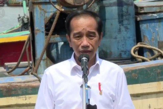 Jokowi: Nelayan tidak terdampak pandemi