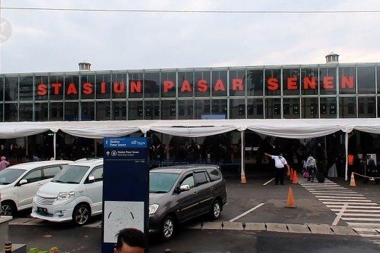 Masa pengetatan, penumpang Stasiun Pasar Senen melonjak
