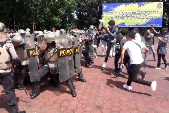 Polda Sultra cegah kekerasan terhadap wartawan