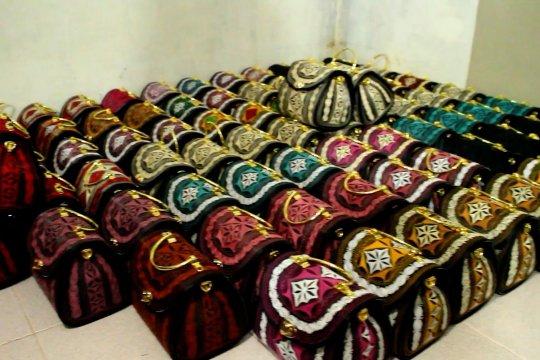 Tas bordir khas Aceh tembus pasar Internasional
