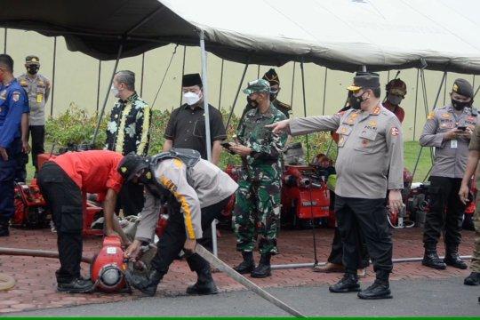 Wakapolri apresiasi kesiapan Polda Riau cegah karhutla