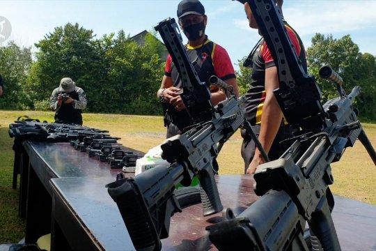Brimob Polda Aceh gelar latihan tembak