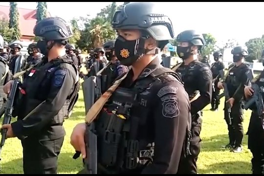 Kapolda Papua sebut 10 terduga teroris di Merauke terkait bom Makassar