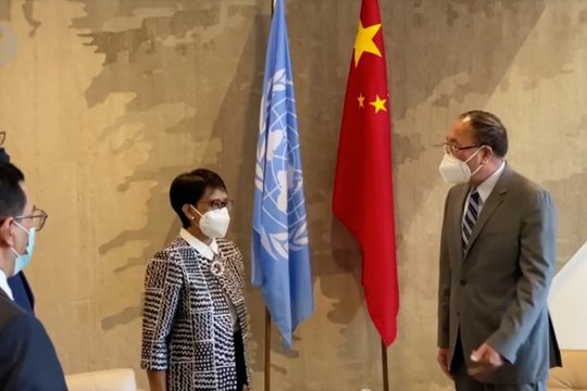 Menlu RI bertemu Presiden Majelis Umum dan DK PBB bahas isu Palestina
