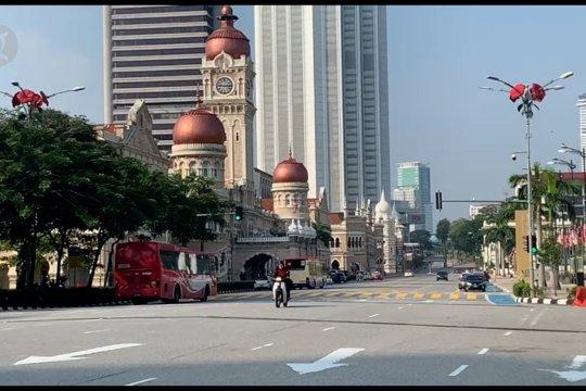 Suasana Idul Fitri di Kuala Lumpur