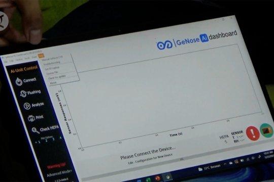 Tim GeNose C19 perbarui pengembangan data pada perangkat lunak