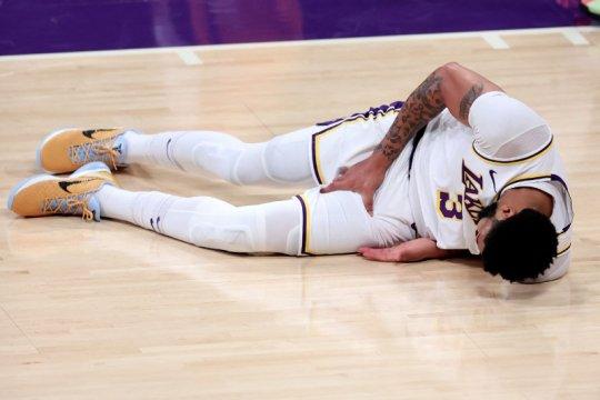 Anthony Davis mungkin absen bela Lakers pada Game 5