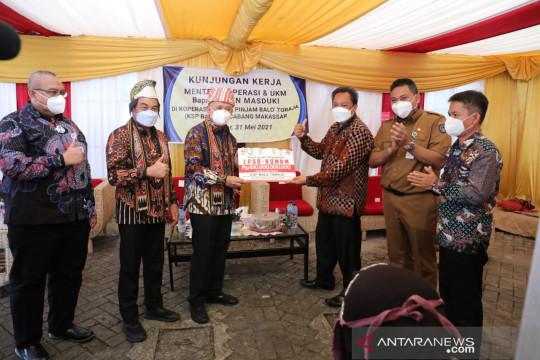 LPDB salurkan dana bergulir Rp100 miliar ke KSP Balo Toraja Sulsel