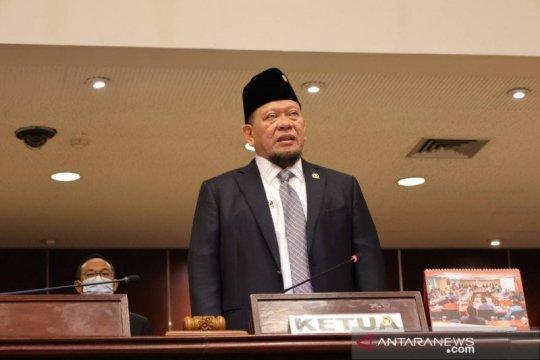 Ketua DPD RI LaNyalla Mattaliti wakafkan dirinya untuk bantu rakyat